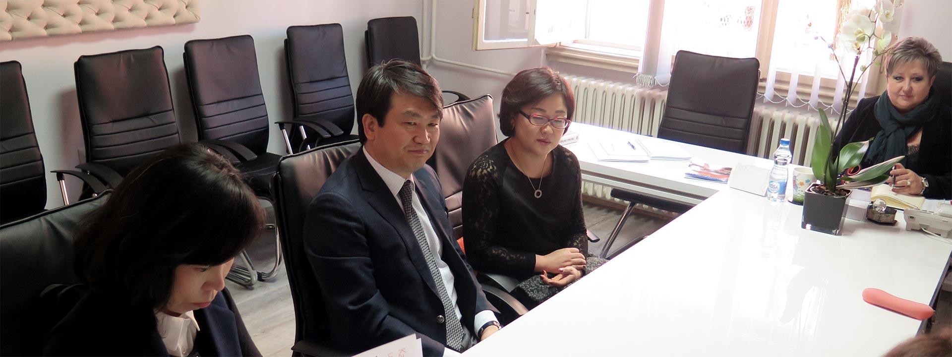 Амбасадор Републике Кореје посетио Филозофски факултет